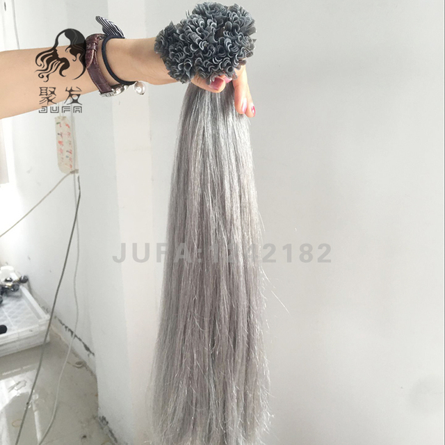 Keratin U Tip Malaysian Hair 1 Gram Each Strand Nail Tip Fusion