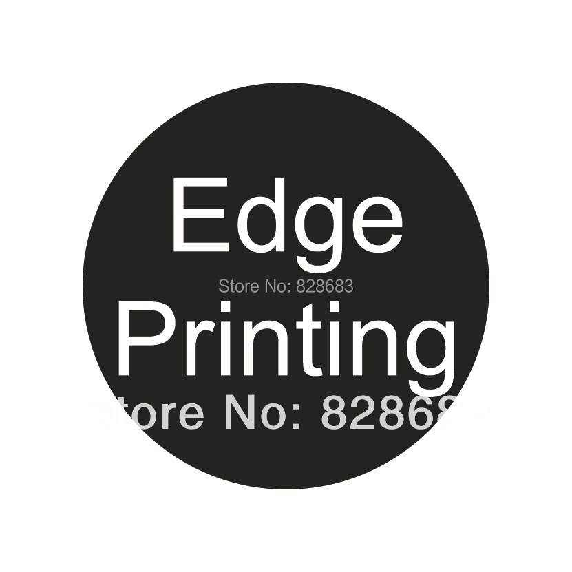 Edge printing for thick business paper card 460~900 gsm Specialty paper edges one color