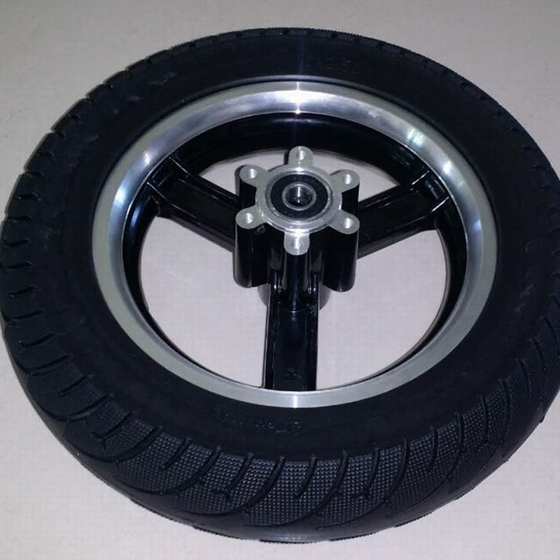 Electric Scooter Wheel Rim 8/10 Inch Scooter Wheel Hub Alumnium Alloy Wheel Frame for 10x2.50 Tire Electric Scooter