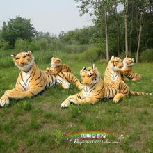 Pernycess authentic simulation tiger 1# 110cm plush giant tiger toy doll boy's kids children Christmas gifts free shipping