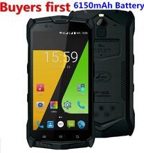 JESY J9S IP68 Waterproof android 7.0 MTK6755 Octa Core 4G LTE mobile phone 4GB RAM 64GB ROM 5.5″ NFC OTG PTT 6150mAh Smartphone