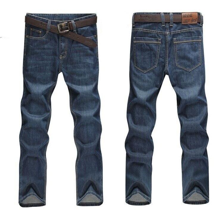 Размера плюс 8xl 4xl 6xl 48 50 52 мужские брюки в стиле хип-хоп хлопковые топы черные синие длинные брюки мужские брендовые длинные джинсы - Цвет: model 1