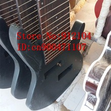 free shipping new Big John unfinished 10 strings electric bass guitar in black for one piece F-2060