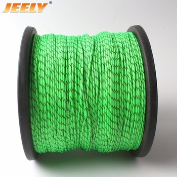 JEELY 1.8mm UHMWPE Jacket Rope Round Stiffness Yacht Sailboat Rope 16/24/32 Strands 500M