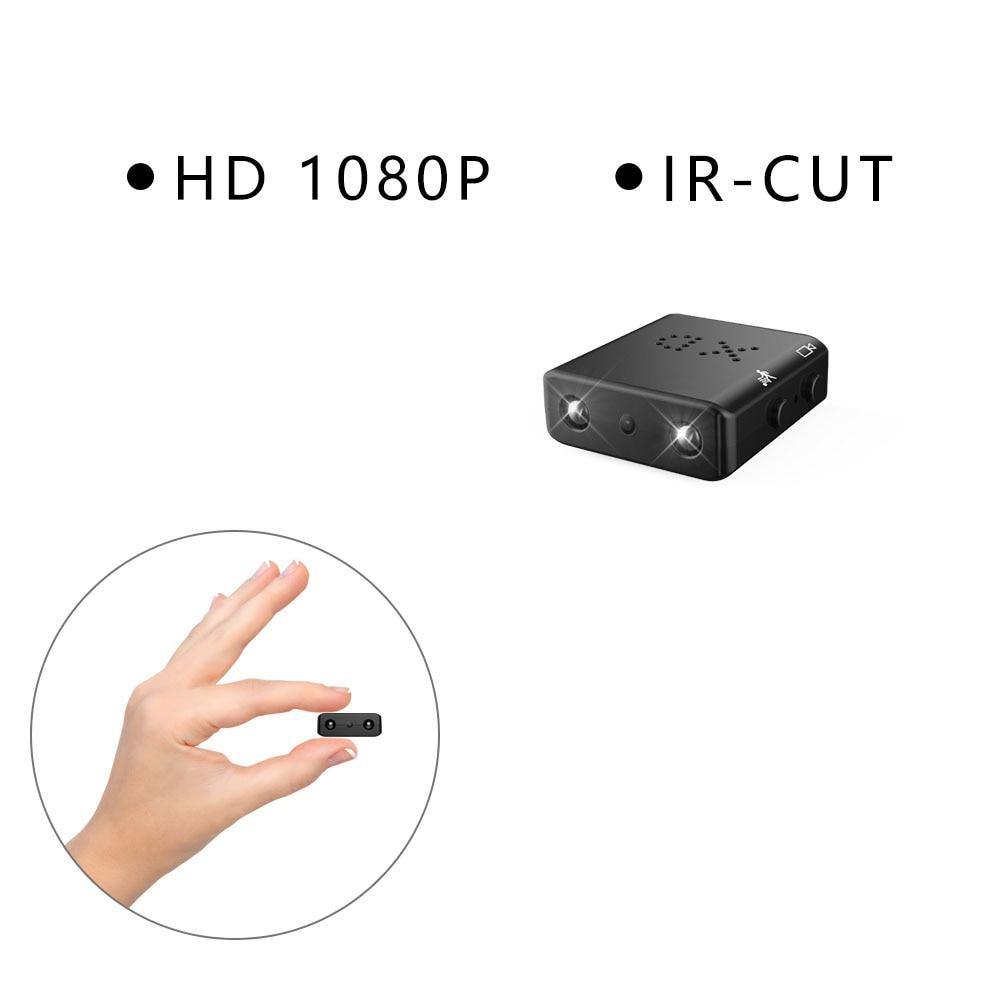 Full HD 1080 p Cámara más pequeña Mini cámara Micro infrarrojos de visión nocturna cam detección de movimiento DV Cámara
