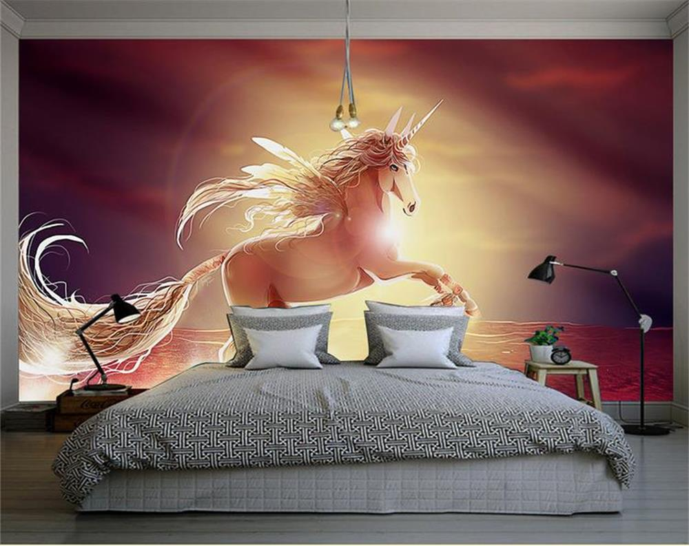 online get cheap pegasus paper com alibaba group 3d custom photo wall paper oil painting sun pegasus mural tv