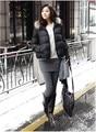 1 pieces Fashionable Stylish Plus velvet Fake 2pcs legging Skirt Pants leggings trousers solid color thick cotton