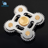 DODOELEPHANT Fidget Spinner Metal Finger Spinner Hand Spinner Spin With Metal Box Toy For Anti Relieve