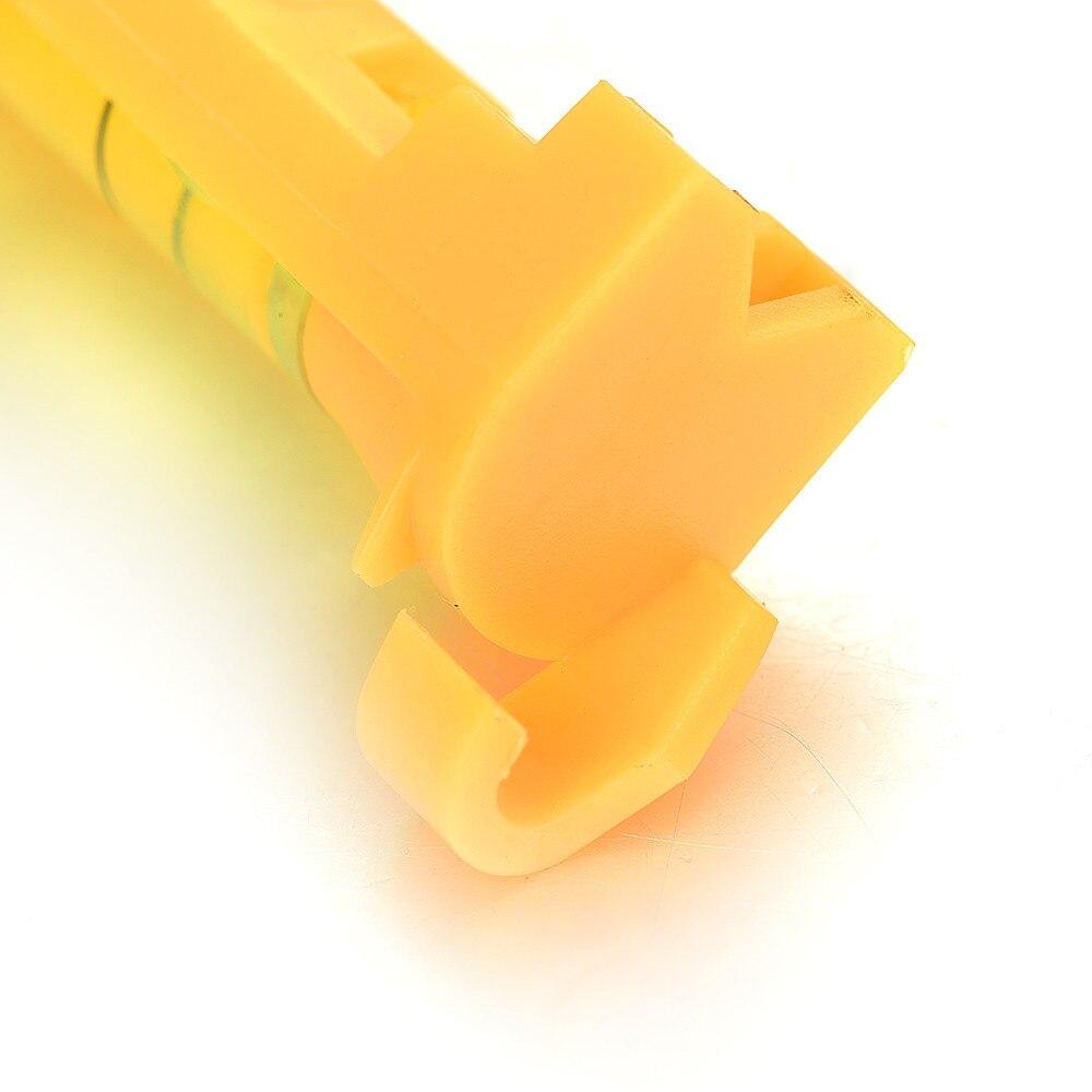 Venda quente amarelo 74mm pendurado bolha espírito