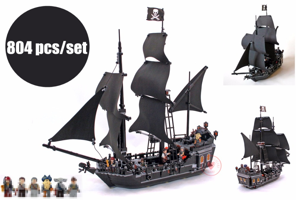 New Pirates The Black Pearl fit legoings Pirates of Caribbean ship Building Blocks bricks 4184 gift kid set boy diy toys a season for fireflies page 2