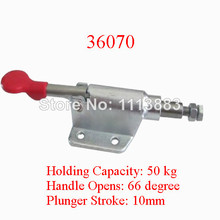 5PCS Holding Capacity 50KG 110LBS Pull Push Type Toggle Clamp 36070 136kg 300 lbs holding capacity 32mm plunger stroke push pull type toggle clamp