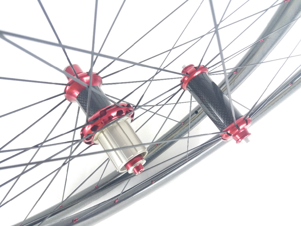 700c Dimpled 58mm Clincher Road Bicycle Carbon Wheels R36 Hubs 20 24H new braking surface NSW