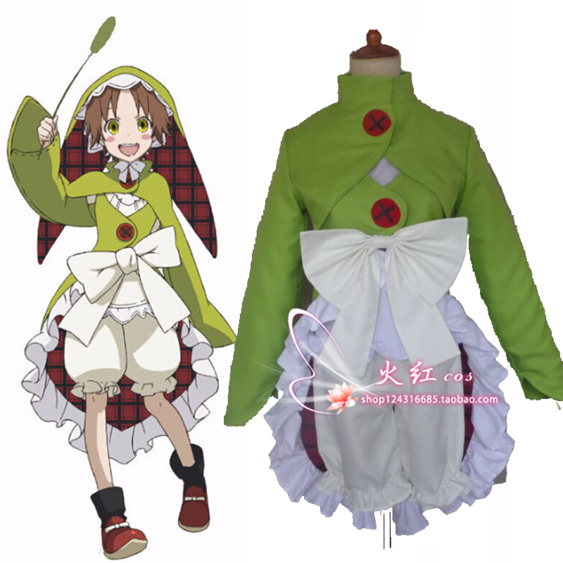Anime Rokka no Yuusha Cosplay Costume Lolita Halloween COS Clothing