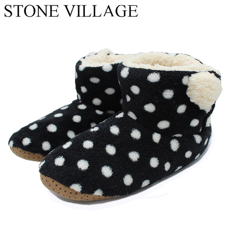 New Arrival 2017 Household Slippers Warm Soft Woolen Indoor Shoes Women Plush Winter Comfortable Indoor Fur Slippers Woman купить