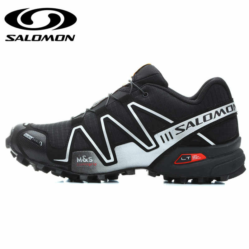 d0b256a4e7 ... Salomon Speed Cross 3 CS III Men Shoes Professional Outdoor Male  Athletic Sport Running Shoes Original ...