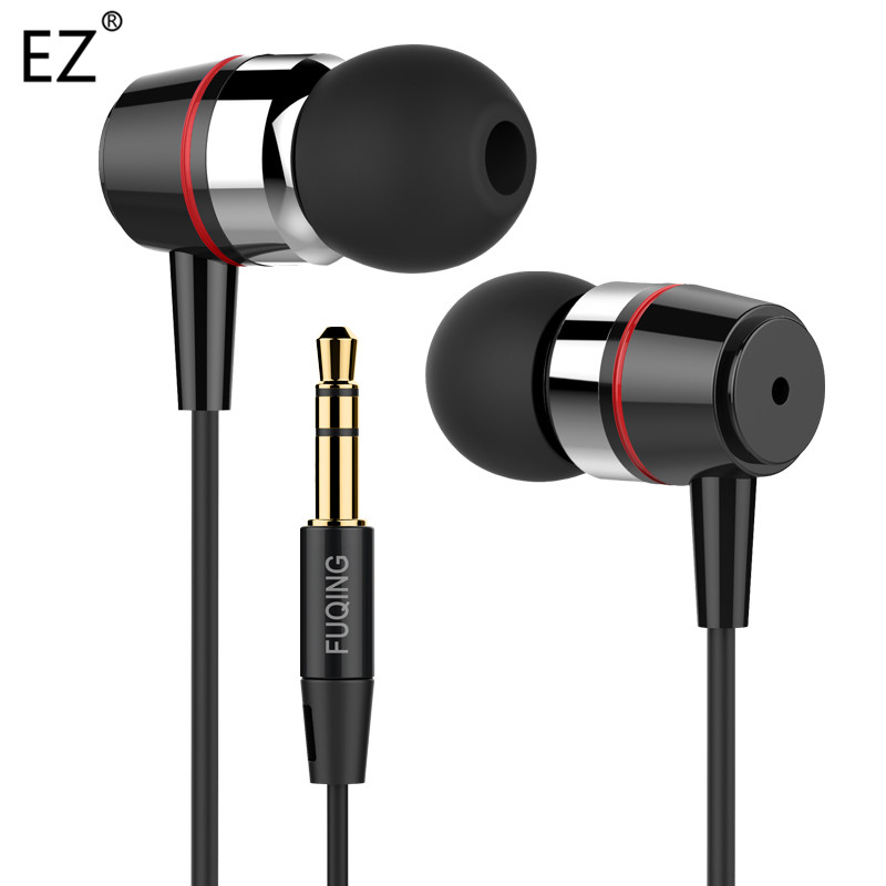 Original Brand Stereo Metal Earphone Headphones Headsets Earpods Bass for iPhone Samsung Xiaomi Music MP3 MP4 Android
