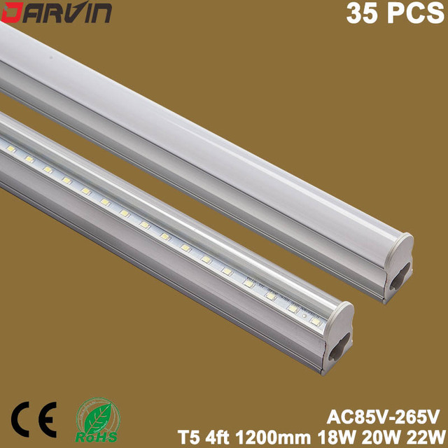 Geïntegreerde T5 Led Licht 4ft 1200mm led tube Lamp Fluorescerende ...