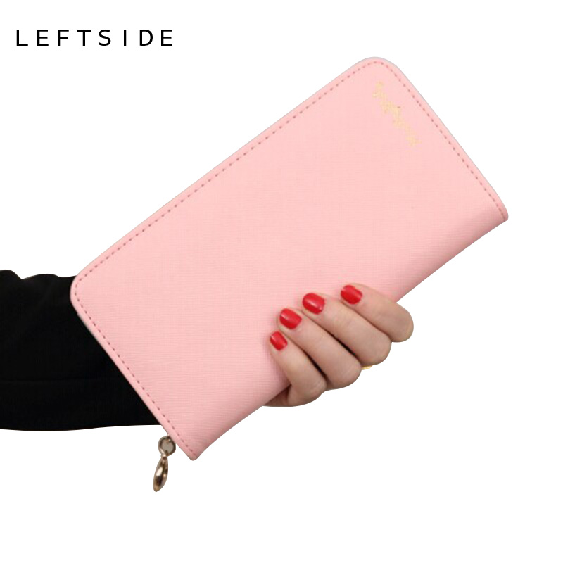 Ladies wallet Coin Purse clutch long thin leather wallets female zipper bills Purses Coin bags clip women bag NEW wallets vintage women short leather wallets stylish wallet coin card pocket holder wallet female purses money clip ladies purse 7n01 18