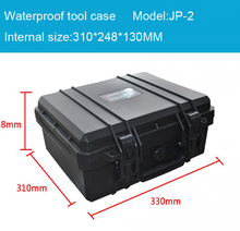 18pcs of JP-2  with lid foam Waterproof Hard Case for Camera Video Equipment Carrying Case ABS  sealed safety portable toolbox