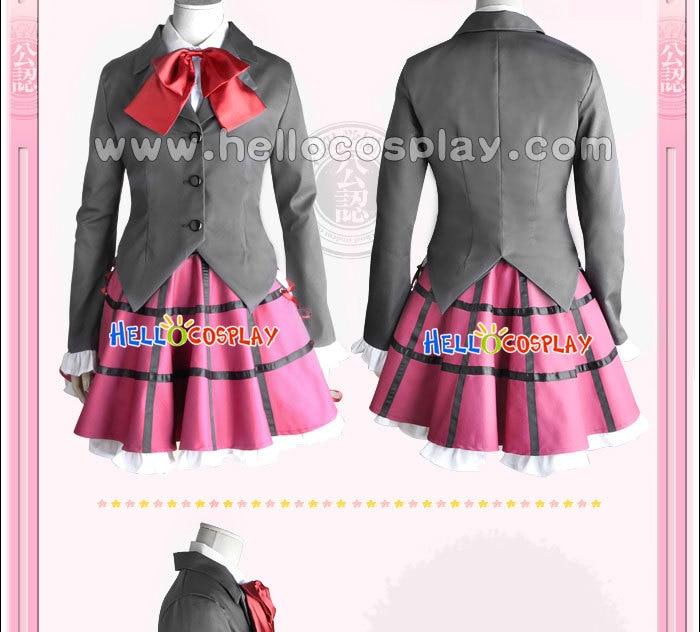 Seitokai no Ichizon Cosplay školní dívčí uniforma Ken Sugisaki kostým H008