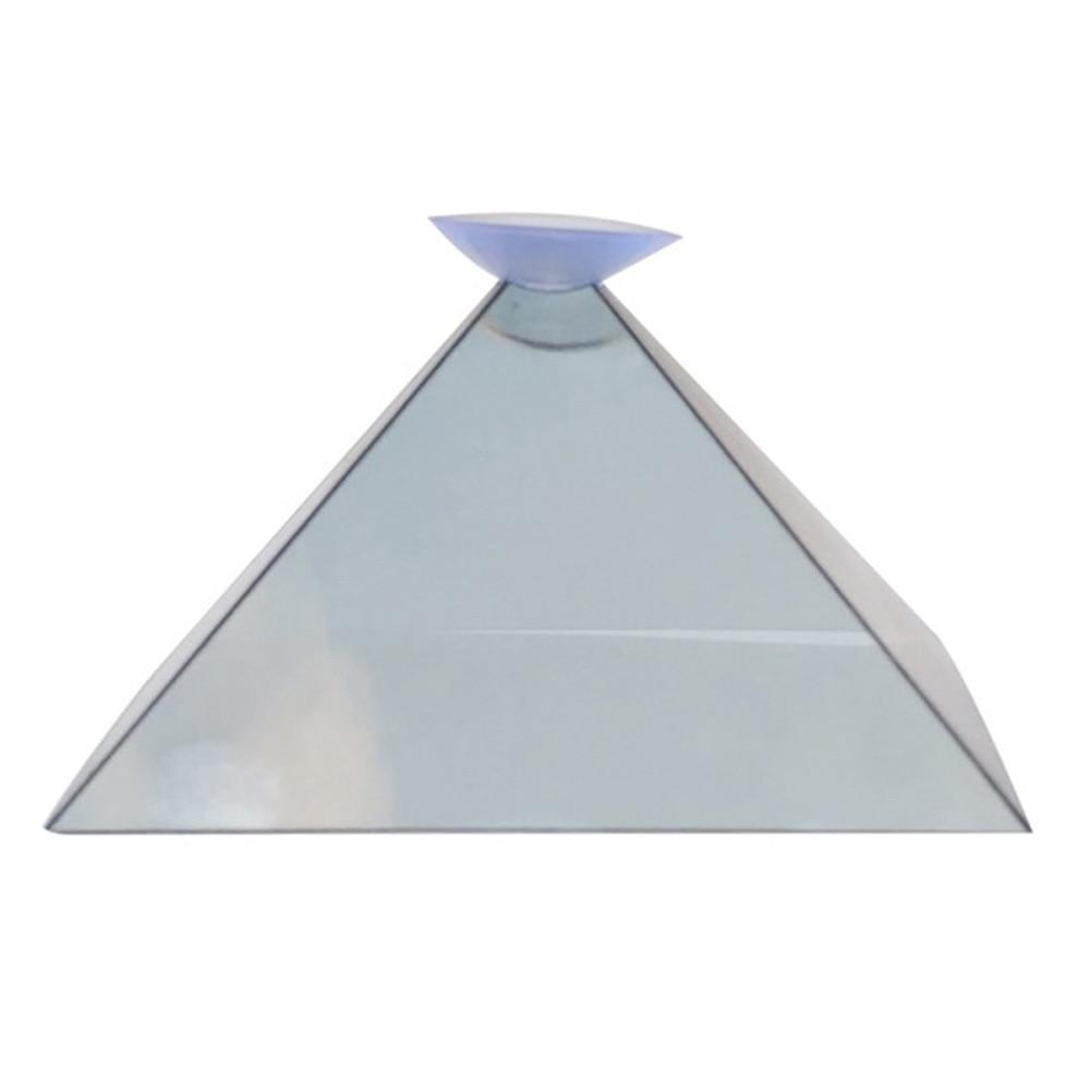 MüHsam Video Flache-folding Projektor Hologramm Miniatur 3d Display Für Smart Telefon
