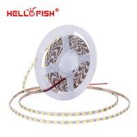 5mm 5050 led diyot ışık şeridi DC 12 V esnek ışık şerit 5 m 84 LED bant işıklar & aydınlatma Hello Balık