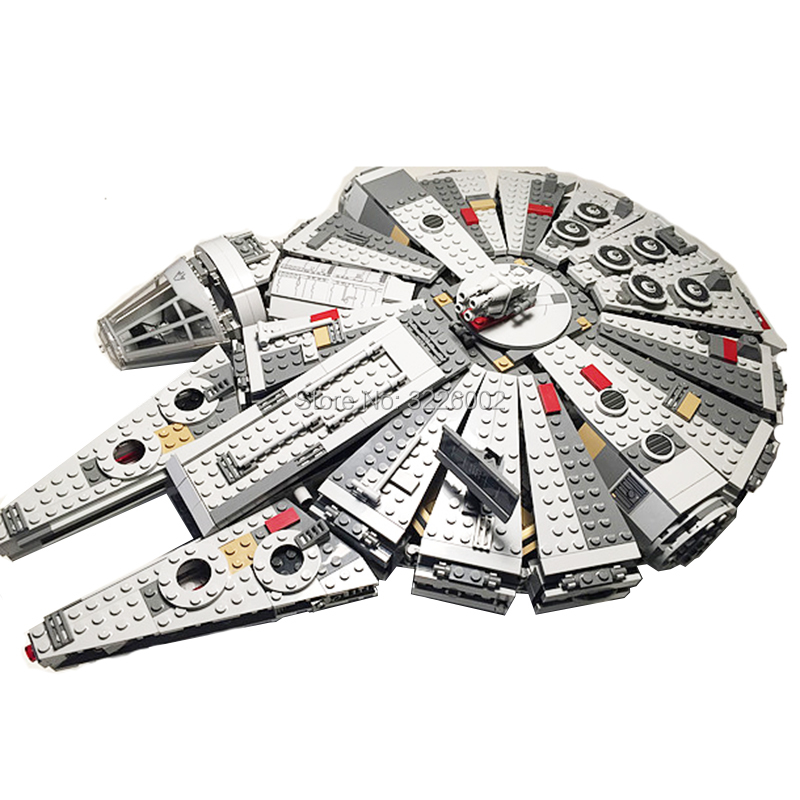 For Hotsale Star Wars Millennium Falcon 75105 Bricks 1381Pcs Models Building Blocks Toys for Children Starwars Hotsale figures 1381 pcs starwars millennium falcon figures model building blocks educational bricks compatible with legoingly star wars toys