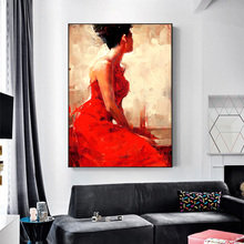 Canvas Prints Portraits Of People Wall Art Painting Picture For Living Room Decoration