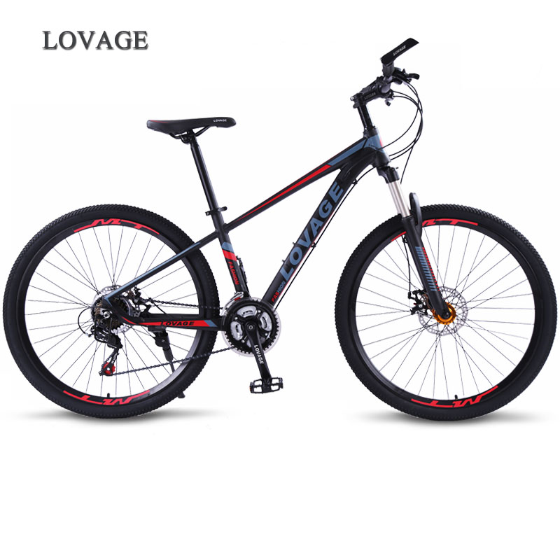 wolf's fang Mountain bike Bicycle Fat Road Bikes <font><b>bmx</b></font> 21 speed Aluminum Alloy 27.5/<font><b>26</b></font> inch Man Women's mtb <font><b>bmx</b></font> bike Free shipping image