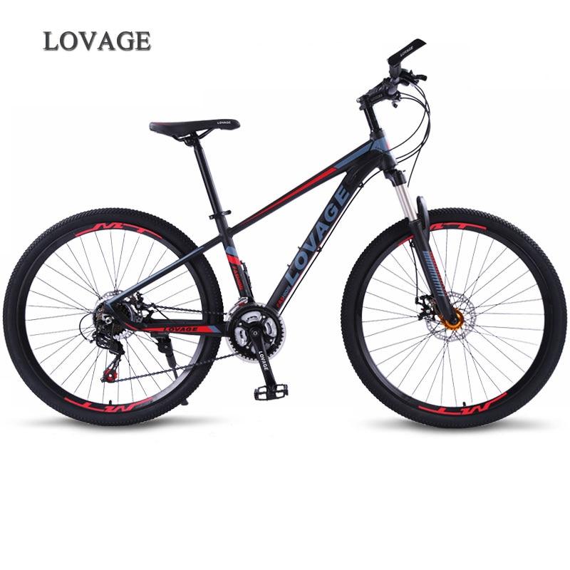 wolf's fang Mountain bike Bicycle Fat Road Bikes bmx 21 speed Aluminum Alloy 27.5 inch Man Women's mtb bmx bike Free shipping