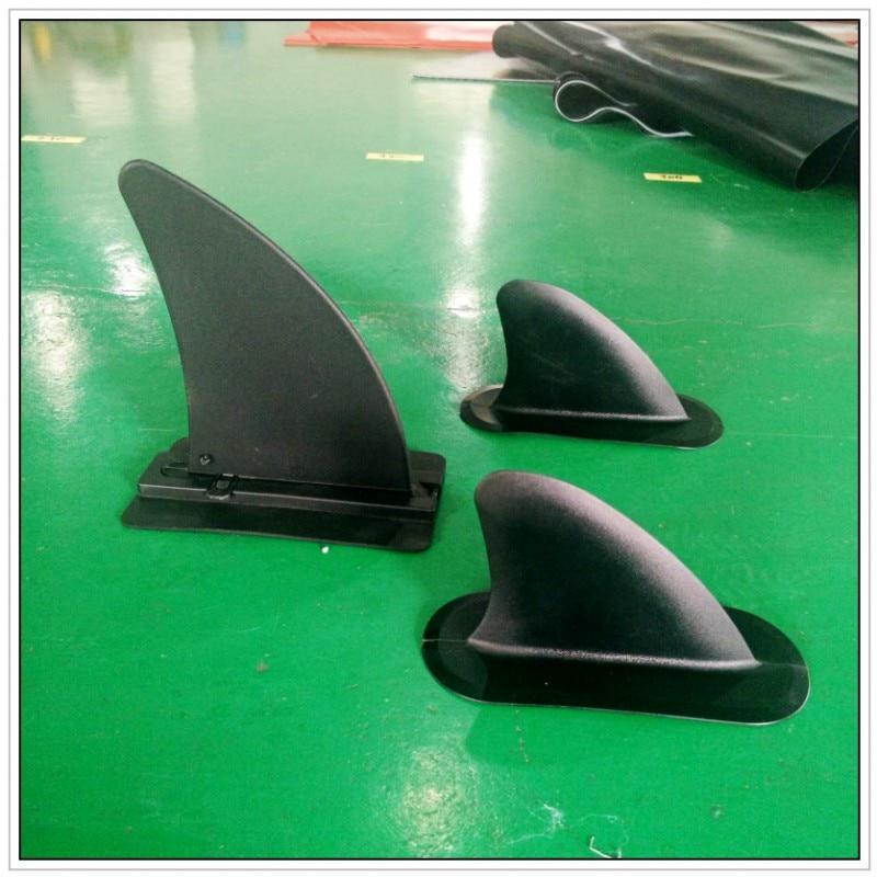 Futures ailettes chaudes!!! une grande ailette amovible avec deux petites ailerons stables pour planche à pagaie sup