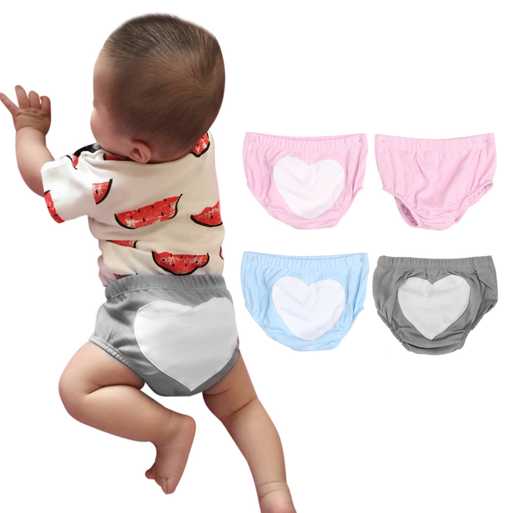 0-2 lat Dziecko Chłopcy Dziewczyny Bielizna Letnie Dzieci Dziecko Płci męskiej i żeńskiej Miłość Bawełna Chleb Dziecko's Dla spodenki Spodnie 2