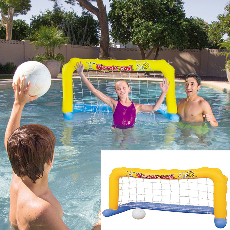 Inflatable Swimming Pool Toys Football Volleyball Basketball Water Sports Games Floating Island Boia Piscina Air Mattress Party