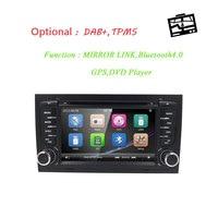 7 дюймов 2 DIN автомобильный DVD плеер для AUDI TT 2006 2014 3g gps Радио Стерео Аудио Видео рулевого управления колеса CD TV BOX RDS Bluetooth Cam карта