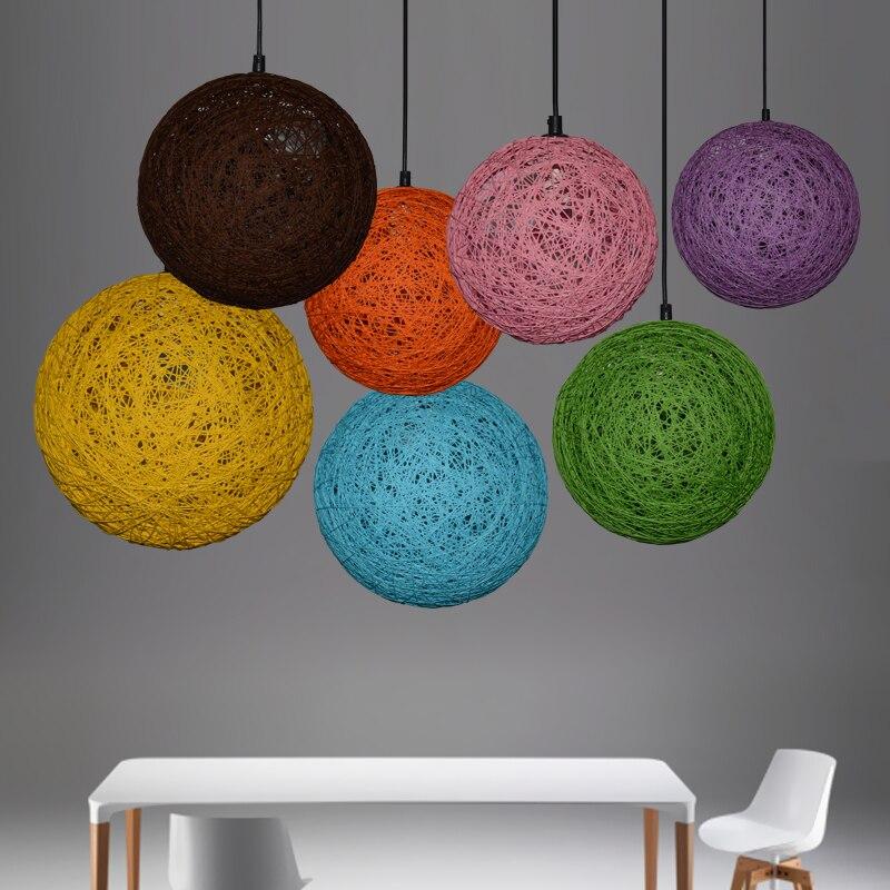 Amerika Stil Anhnger Leuchte Seil Hngende Dining Room Restaurant Lampe Vintage Beleuchtung Kostenloser Versand