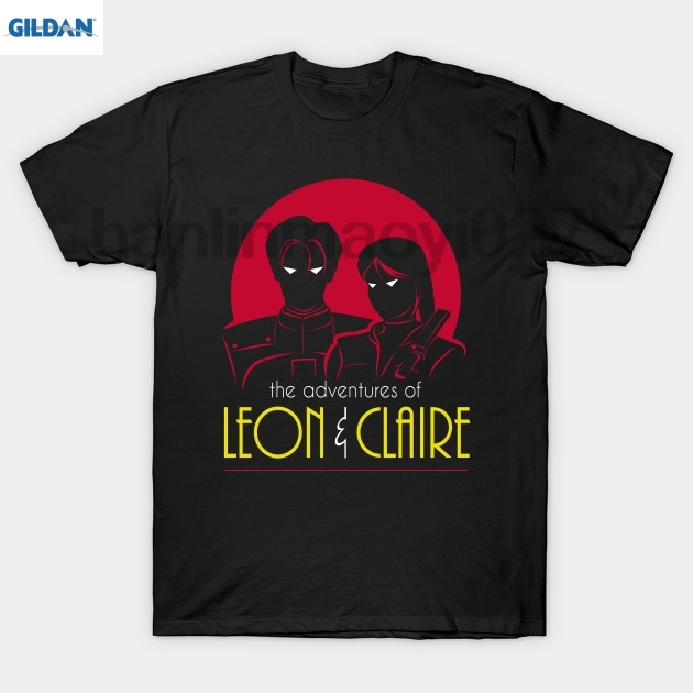 GILDAN The Adventures of Leon &amp Claire T Shirt