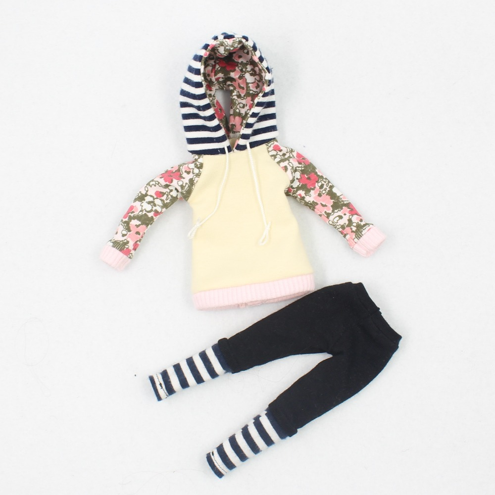 Neo Blythe Doll Hoodie & Pant With Shoes 7