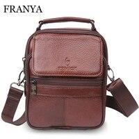 Vintage Men S Crossbody Shoulder Genuine Leather Bags Messenger Bag Men Leather Handbags Elunico Bolsas Femininas