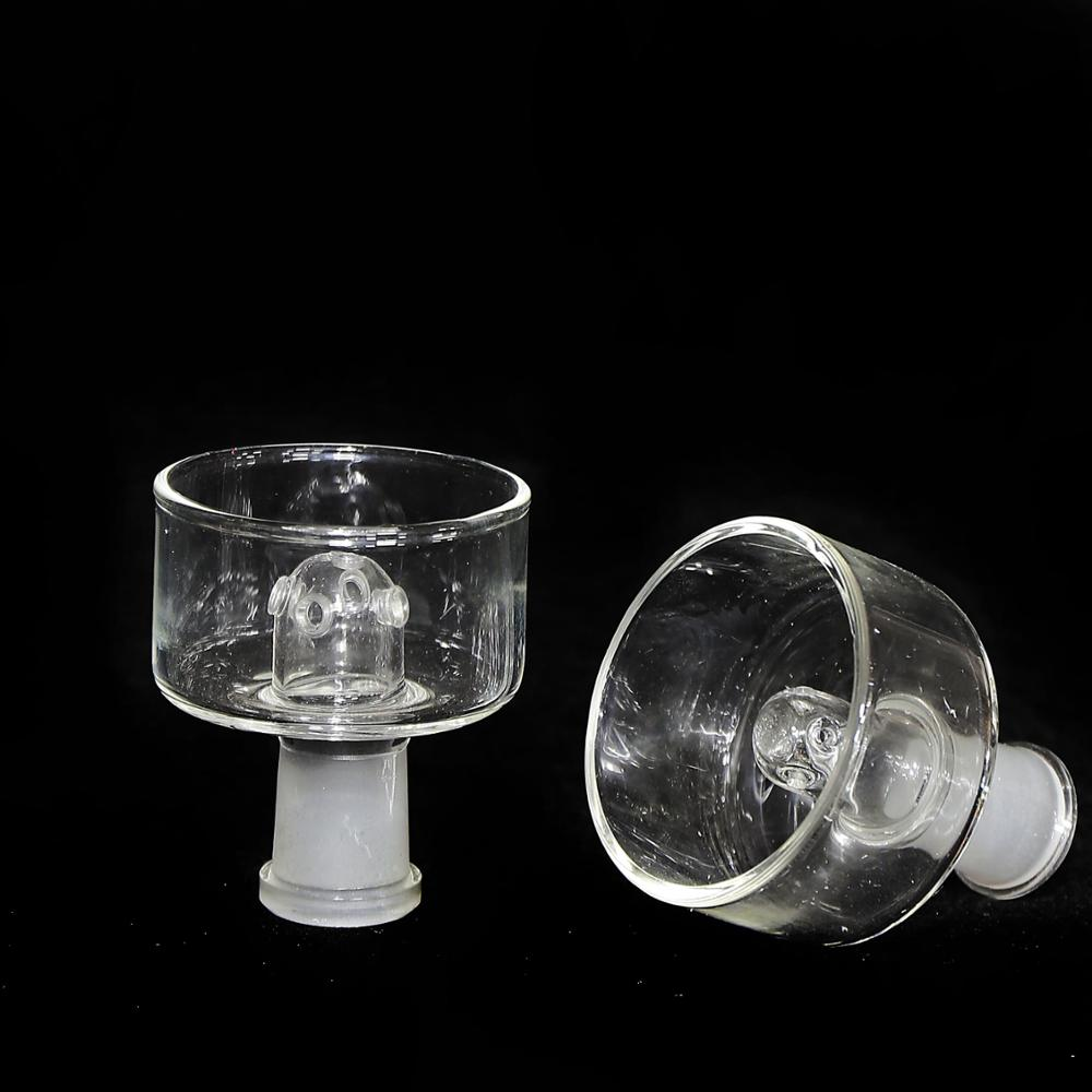 1pc Hookah Accessories Clear Glass Bowl 14mm Male Joint for Bongs
