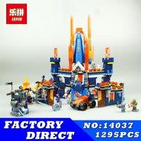Second Half Of The Latest Future Knights Building Blocks LEPIN 14037 1295Pcs Educational Bricks Kits Toy