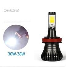 2pcs Car H7 LED  H3 H11 HB3 9005 HB4 9006 H27 880 801 Bulbs Fog Light Dual Color 3000k 6000k Auto Lamp 12V for bmw