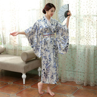 Japanese Ancient clothes Anime Party Cosplay Asia & Pacific Islands Clothing Traditional Japanese Kimono Women Long elegant gown