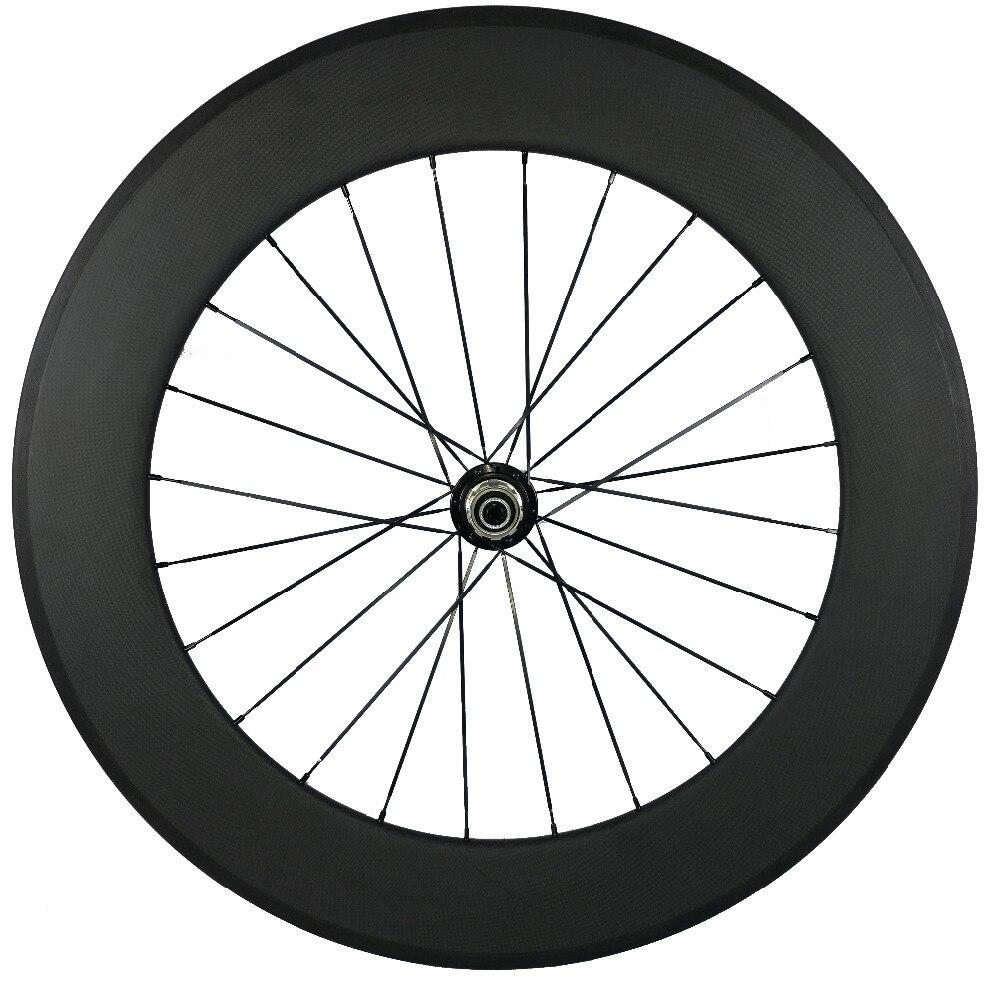 Pas de Logo 25 MM largeur 88 MM profondeur carbone tubulaire ou pneu 700C carbone route vélo