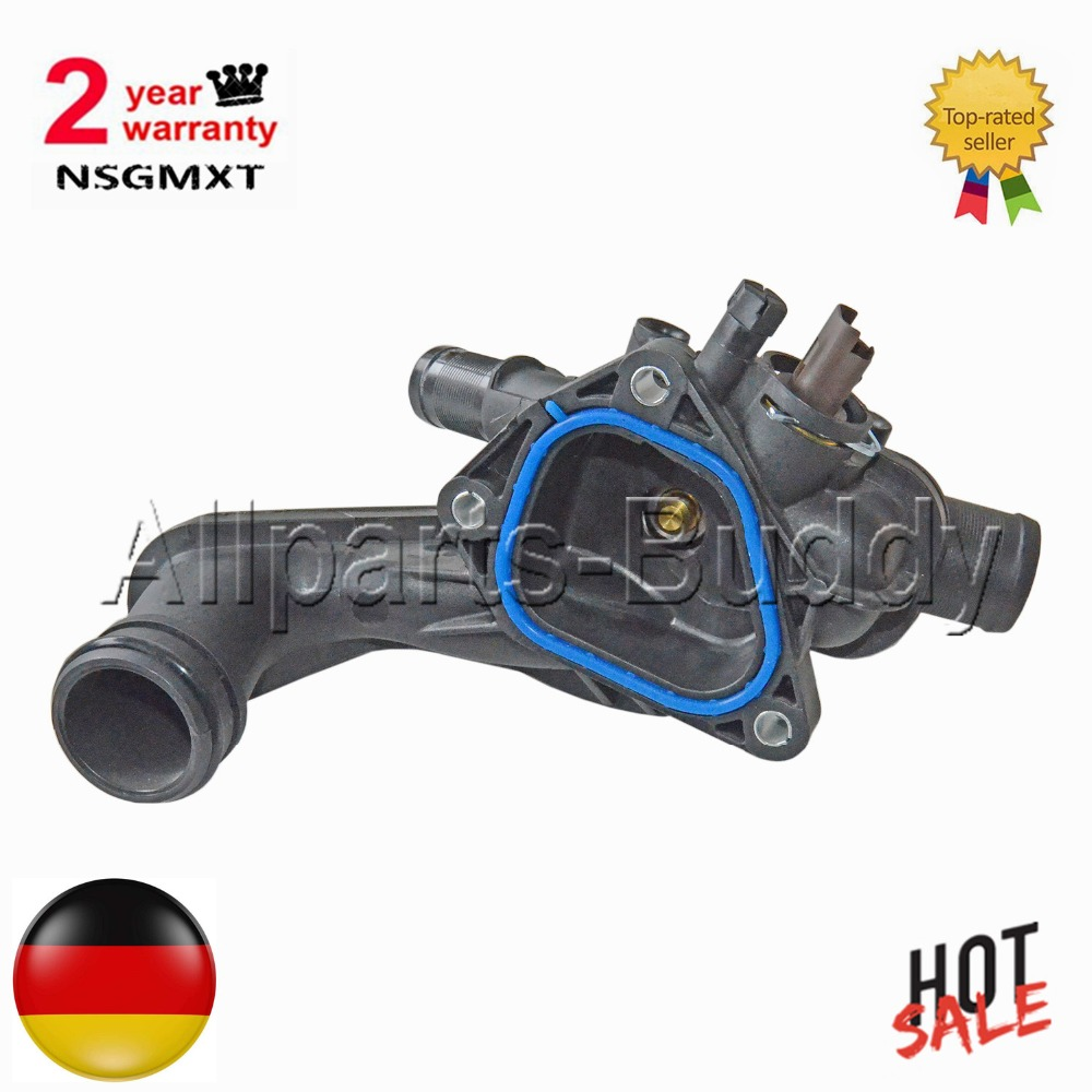 AP02 THERMOSTAT+HOUSING For Citroen C3 C4 Grand Picasso PEUGEOT 207 208 308 Mini Cooper R55 R56 R57  1336.Z8 1336Z8 9810916880