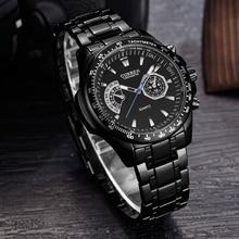 Vogue Men's Watches CURREN Military Stainless Steel Business Quartz Watches 3ATM Waterproof Wristwatch Dropshipping Relogio 2019 curren relogio c8110
