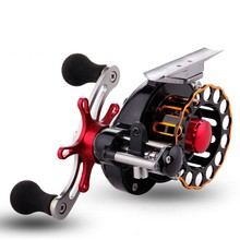 LumiParty Fly Fishing Reel Automatic Wire Spread 10+1 BB Aluminum Alloy Left/Right Hand Ice Raft peche a la carpe