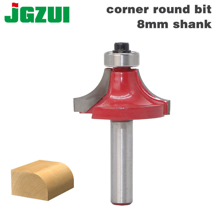 1PC 8mm Shank Round Over Edging Router Bit - 1/4