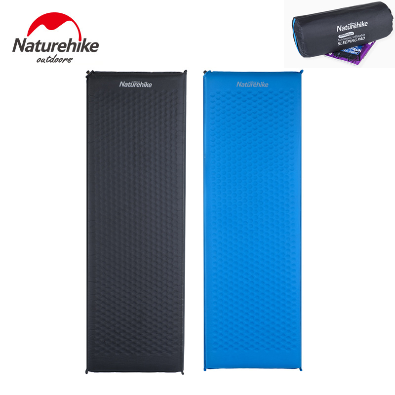 Naturehike Outdoor Tent Camping Mat Mattress Self Inflating Sleeping Pad Lightweight Air Sleeping Pads Adults Moisture-proof Pad цены онлайн