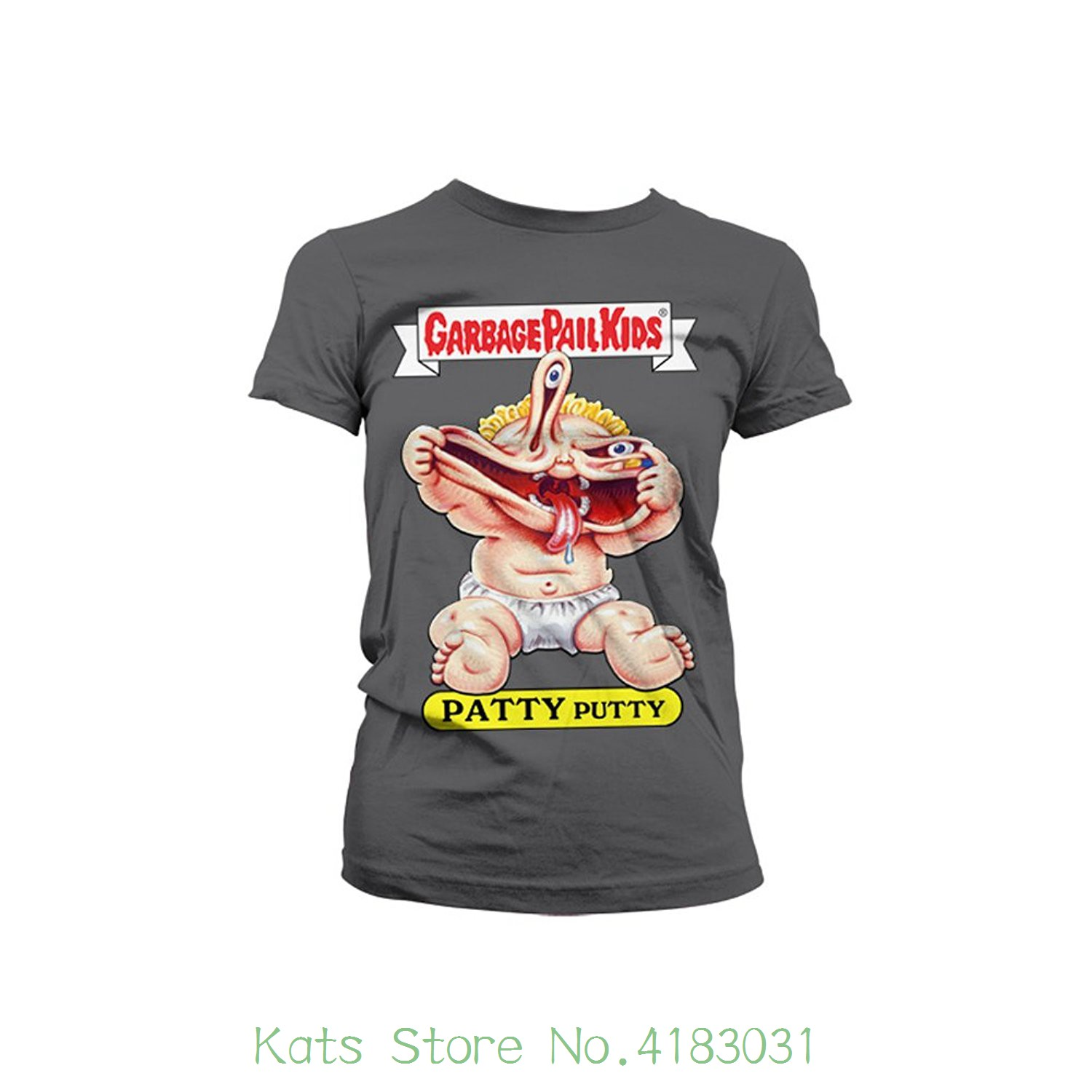 Officially Licensed Merchandise Patty Putty Girly T-shirt Print T-shirt Summer Style