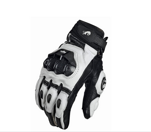 Leather Racing Glove Motorcycle Gloves ride bike driving bicycle cycling Motorbike Sports moto racing gloves 1 pair motorbike protective gloves motorcycle stainless steel sports racing road gears motorbike